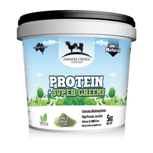 Farmers Choice Whey Protein Concentrate + Super Greens - 5kg